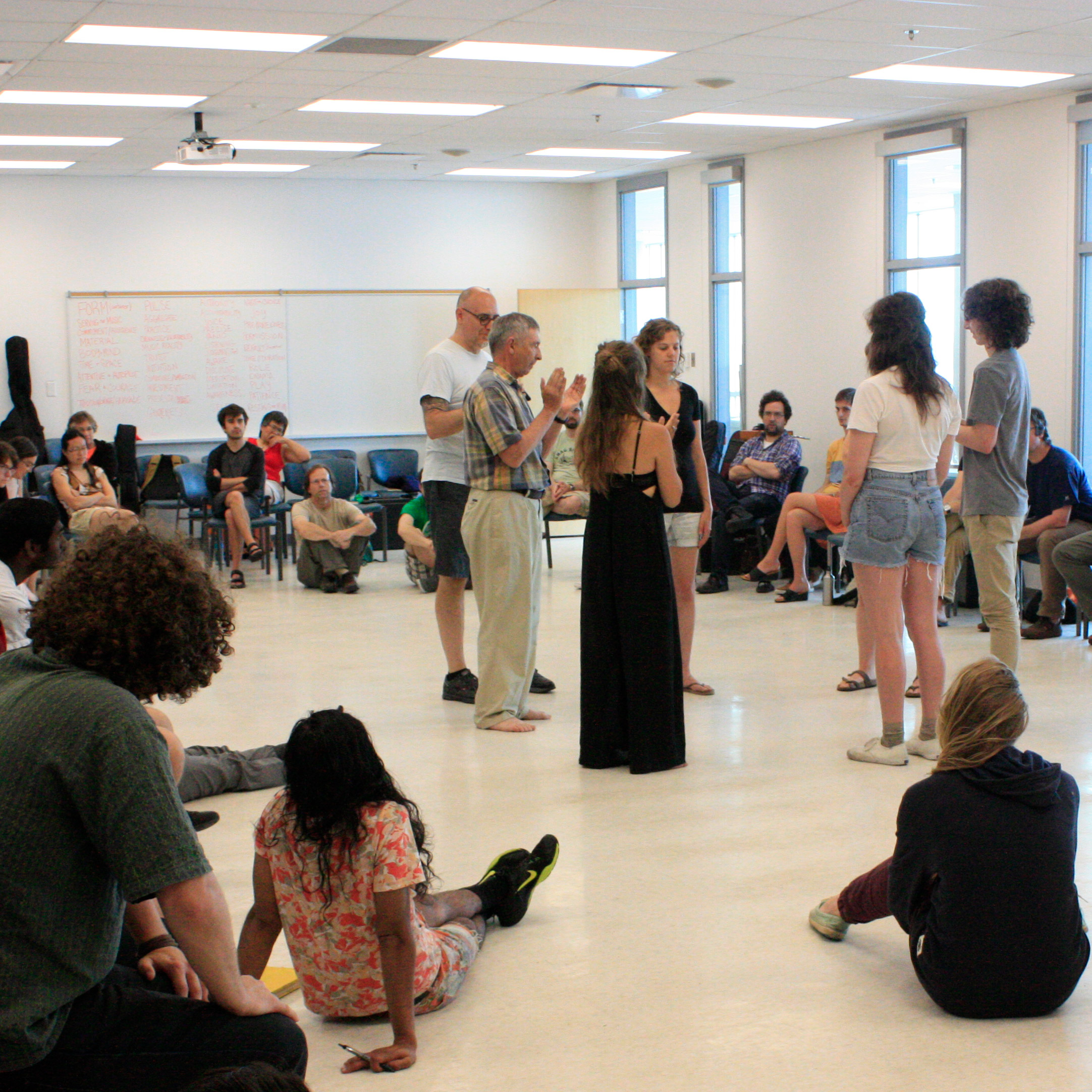 Creative Music Workshops with Jerry Granelli in Halifax NS