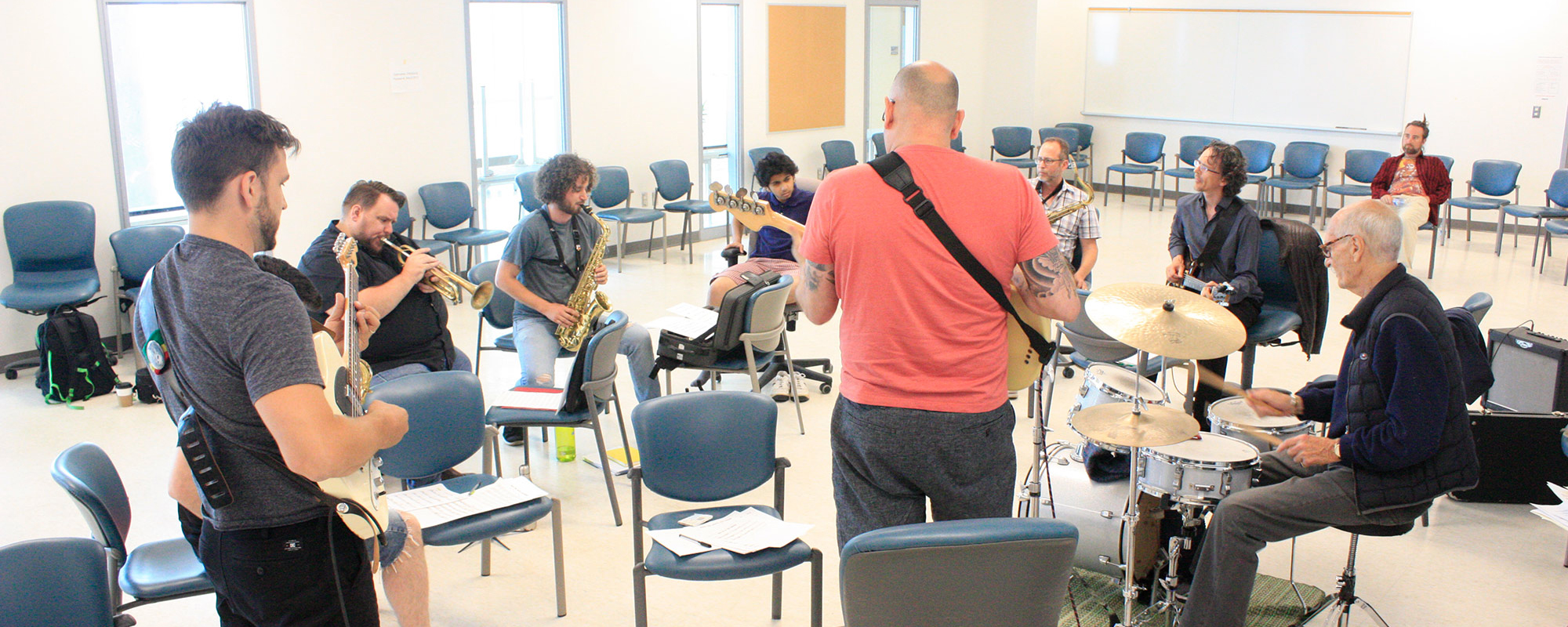 Creative Music Workshop students in Halifax NS NSCC